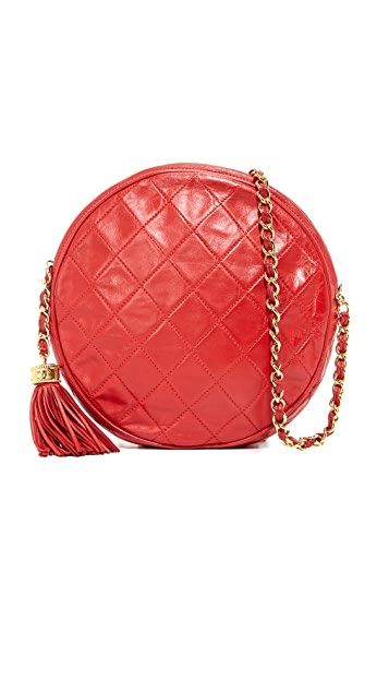 0f3cc71aea6c What Goes Around Comes Around Chanel Round Shoulder Bag (Previously ...