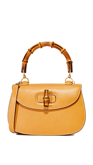 bcd95da7c581 What Goes Around Comes Around Gucci Bamboo Handbag (Previously Owned ...