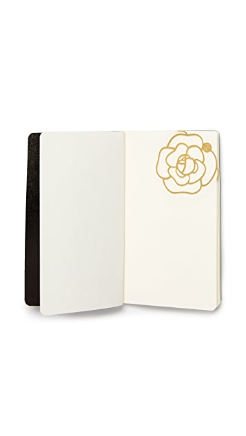 What Goes Around Comes Around Chanel Notepad With Camillia Bookmark