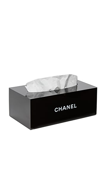 What Goes Around Comes Around Chanel Tissue Box