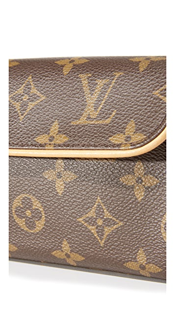 What Goes Around Comes Around Louis Vuitton Mono Pouchette Florentine Belt Bag (Previously Owned)