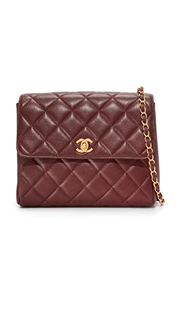 What Goes Around Comes Around Chanel Quilted Shoulder Bag (Previously Owned)