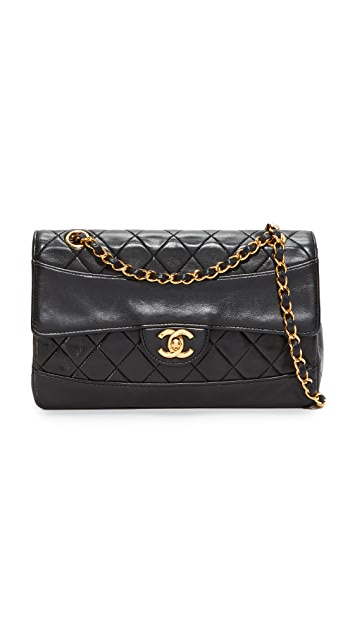 What Goes Around Comes Around Chanel Border Quilted Bag (Previously Owned)