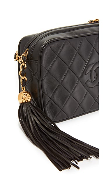 What Goes Around Comes Around Chanel CC Diamond Camera Bag (Previously Owned)
