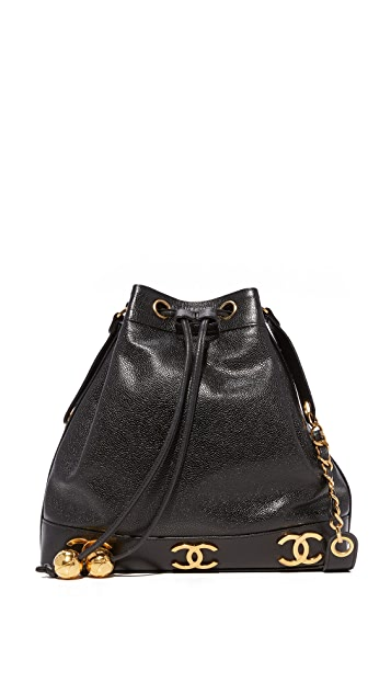 What Goes Around Comes Around Chanel 3 CC Bucket Bag (Previously Owned)