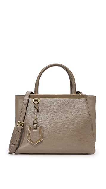 What Goes Around Comes Around Fendi 2Jour Mini Tote (Previously Owned) - Grey