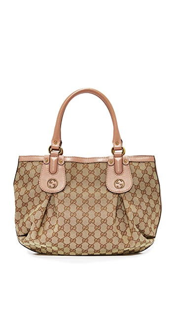 What Goes Around Comes Around Gucci Scarlett Tote (Previously Owned)