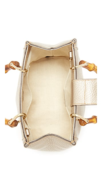 ab66bd159a3 ... What Goes Around Comes Around Gucci Bamboo Mini Tote (Previously Owned)  ...