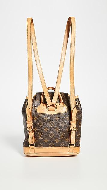 What Goes Around Comes Around Louis Vuitton 交织字母背包(二手)