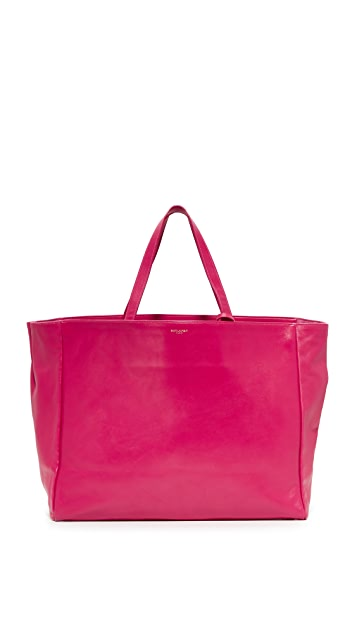 What Goes Around Comes Around Yves Saint Laurent Leather Tote (Previously Owned)