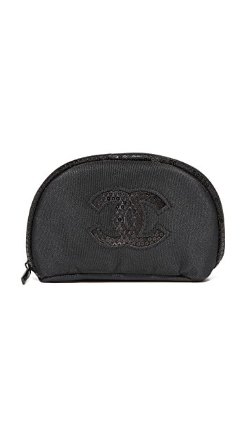 What Goes Around Comes Around Chanel Sequins Cosmetic Bag (Previously Owned)