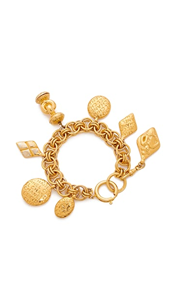 What Goes Around Comes Around Chanel Charm Bracelet (Previously Owned)