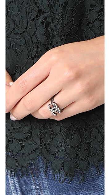 What Goes Around Comes Around Chanel CC Ring (Previously Owned)