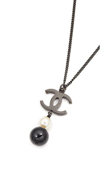 What Goes Around Comes Around Chanel Dangle Necklace (Previously Owned)