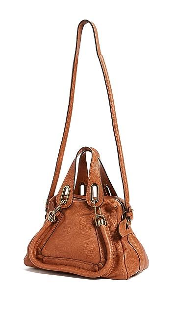 What Goes Around Comes Around Chloe Leather Paraty Handbag