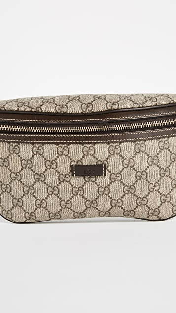 What Goes Around Comes Around Gucci Coated Canvas Waist Pouch (Previously Owned)