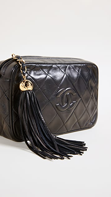 What Goes Around Comes Around Chanel Diamond Camera Bag (Previously Owned)