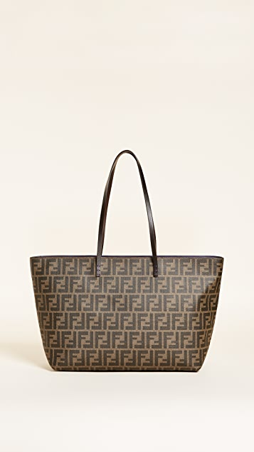 d43930e5c2 What Goes Around Comes Around Fendi Zucca Roll Tote (Previously ...