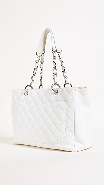 What Goes Around Comes Around Chanel Caviar CC Tote (Previously Owned)