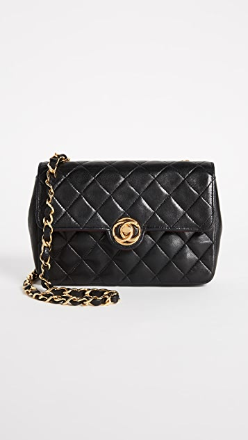 What Goes Around Comes Around Mini Chanel Lambskin Circle Lock Bag (Previously Owned)