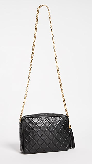 What Goes Around Comes Around Chanel Lambskin Pocket Bag (Previously Owned)