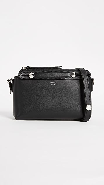 What Goes Around Comes Around Fendi Mini By the Way Cross Body Bag (Previously Owned) - Black