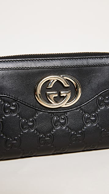 What Goes Around Comes Around Gucci Sukey Wallet (Previously Owned)