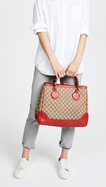 What Goes Around Comes Around Gucci Bamboo Diana Tote (Previously Owned)