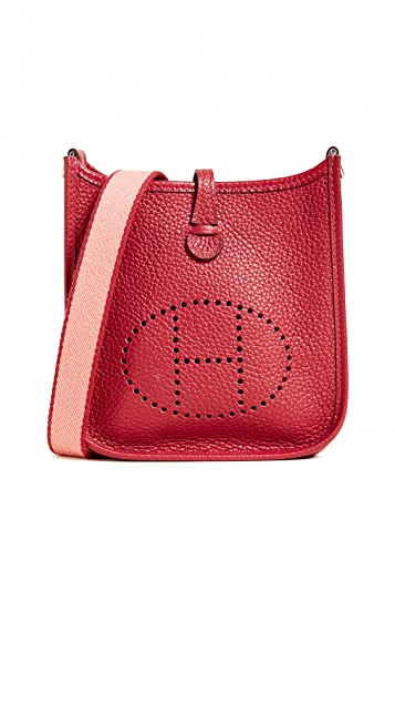 What Goes Around Comes Around Hermes Clem Evelyne Bag (Previously Owned)