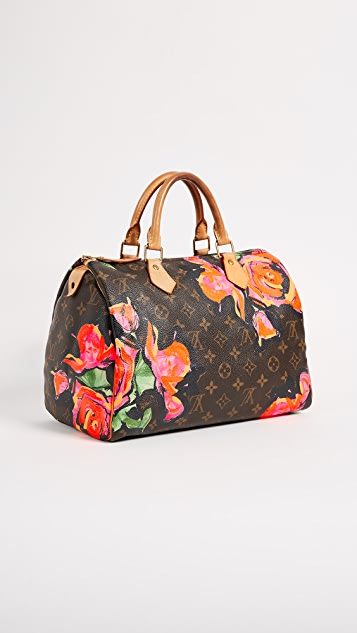 What Goes Around Comes Around LV Roses Speedy 30 Bag