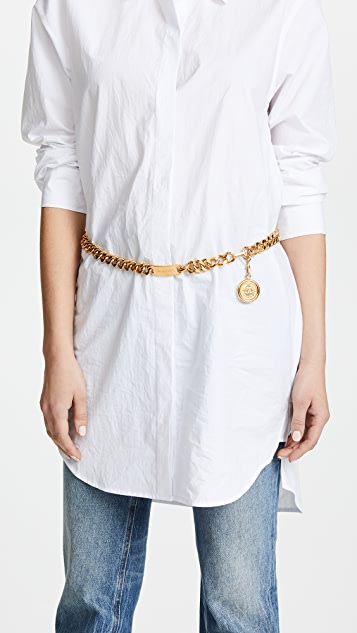 What Goes Around Comes Around Chanel Gold Chain Belt