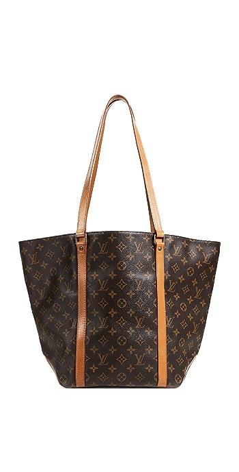 What Goes Around Comes Around Louis Vuitton Monogram Sac Shopping Tote Bag - Brown