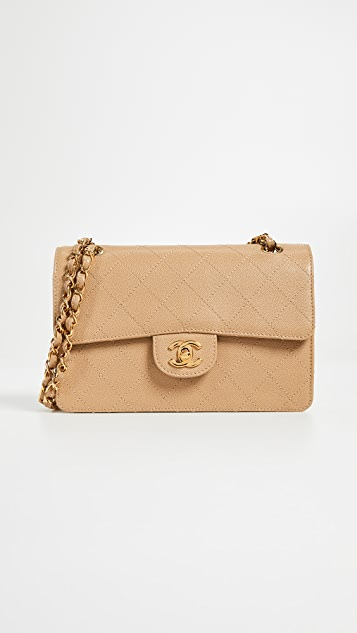 6eb1e7ac4bf9 What Goes Around Comes Around. Chanel Beige Caviar 2.55 Classic Flap Bag