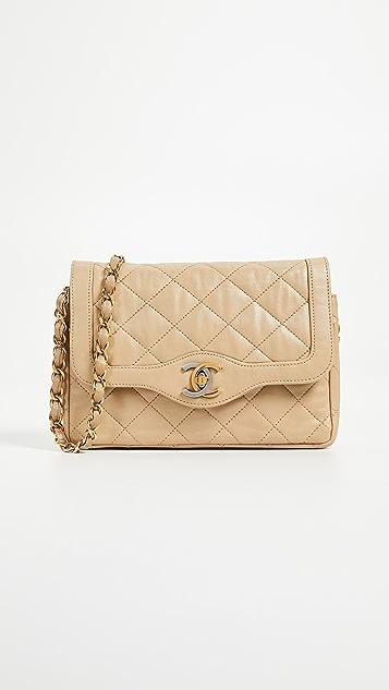 What Goes Around Comes Around Small Chanel Paris Bag  adadf8dcf7f7e