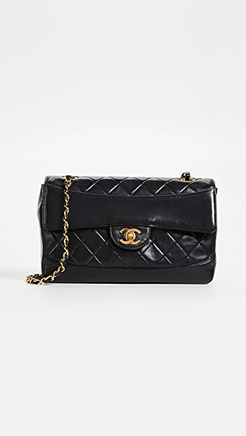 What Goes Around Comes Around Chanel Lambskin Arch Flap Bag