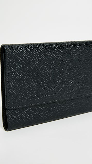 What Goes Around Comes Around Chanel Caviar Wallet