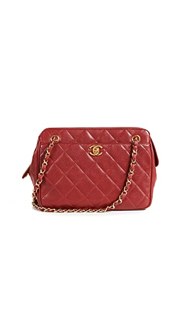 What Goes Around Comes Around Chanel Caviar Pocket Shoulder Bag