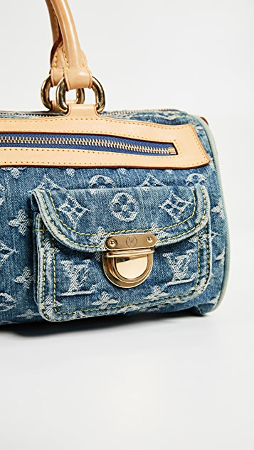 What Goes Around Comes Around Louis Vuitton Denim AB Neospeedy Bag