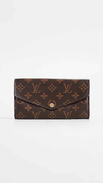 What Goes Around Comes Around Louis Vuitton Monogram Sarah NM Wallet - Brown