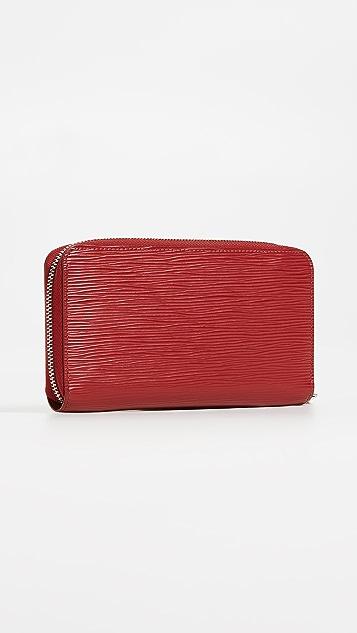 What Goes Around Comes Around Louis Vuitton Epi Zip Wallet