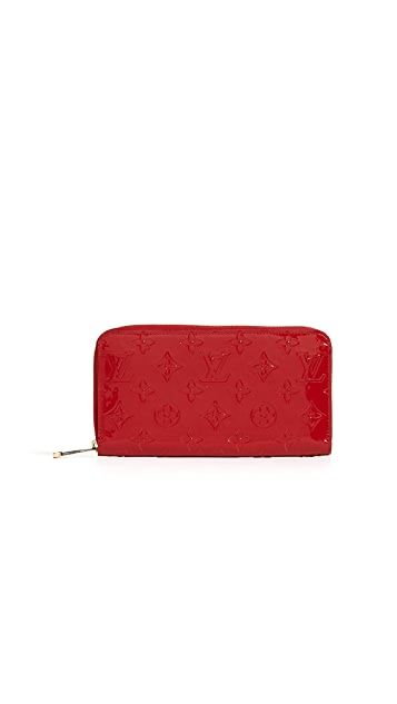 What Goes Around Comes Around Louis Vuitton Vernis Zippy Wallet