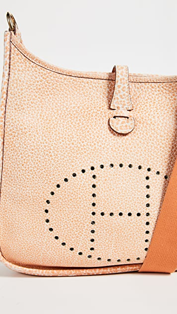 What Goes Around Comes Around Orange Dalmatian Buffalo Evelyne I PM Bag