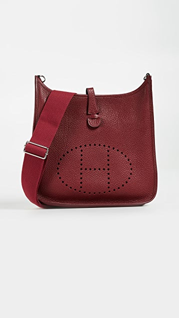 What Goes Around Comes Around Hermes Clemence Evelyne III PM Bag