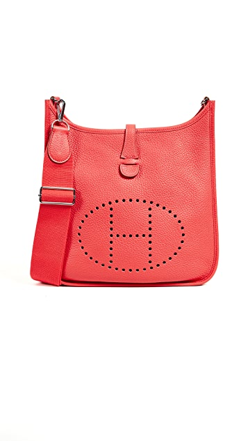 What Goes Around Comes Around Hermes Clemence Evelyne II PM Bag