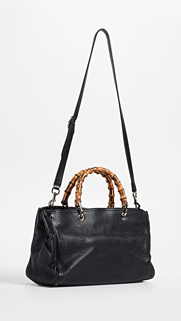 What Goes Around Comes Around Gucci Bamboo Shopper