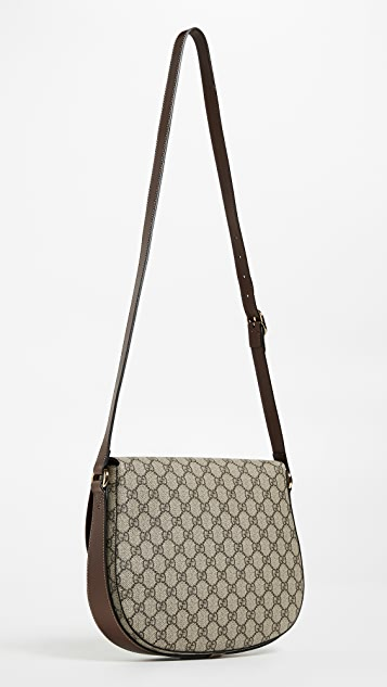 What Goes Around Comes Around Gucci Logo Shoulder Bag
