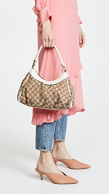 What Goes Around Comes Around Gucci Abbey Tote Bag