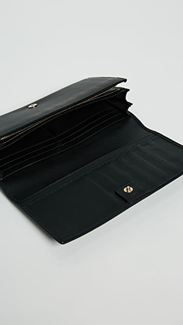 What Goes Around Comes Around Gucci Long Wallet
