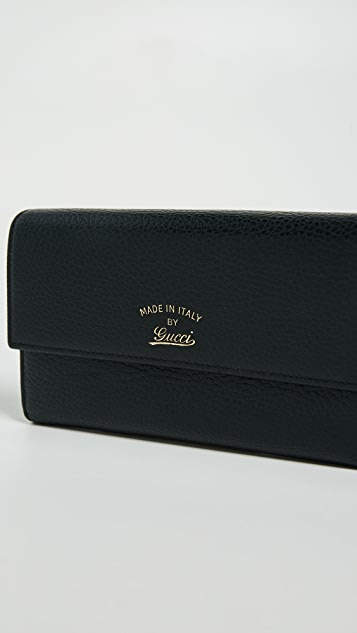 What Goes Around Comes Around Gucci Swing Wallet