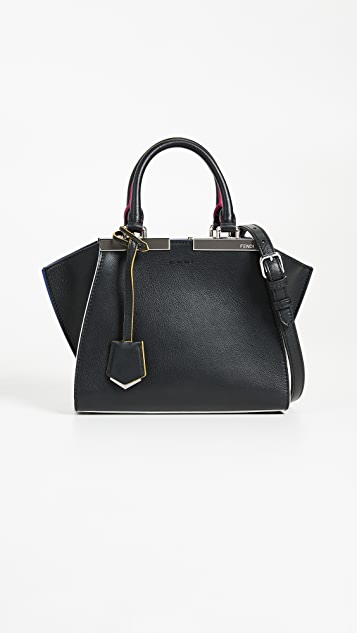 What Goes Around Comes Around Fendi 3Jours Mini Bag - Black